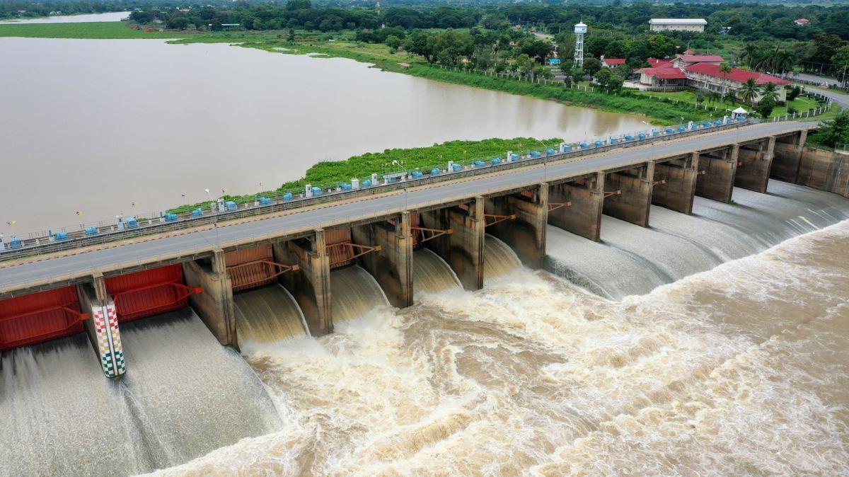 chawpraya river Dam24092021